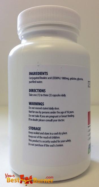 cla ingredients - dr oz recommendation