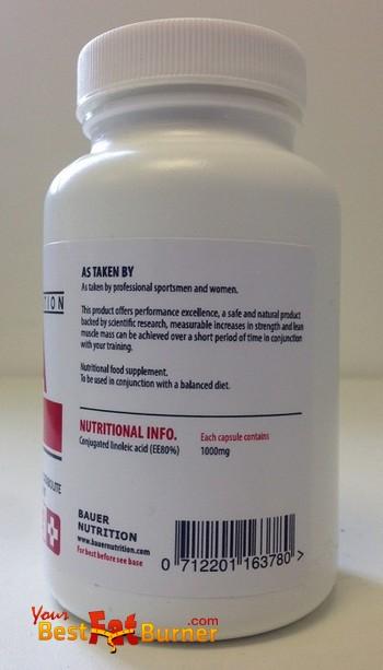 cla nutritional info