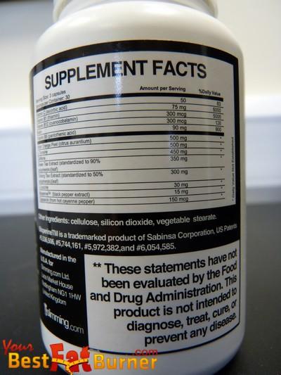 fenburn ingredients